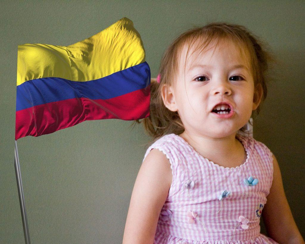 colombia para niños